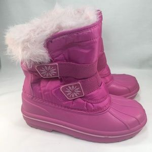 Circo Girls Snow Boots Pink Size 2